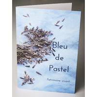 """Pochette """"Bleu de Pastel"""""""
