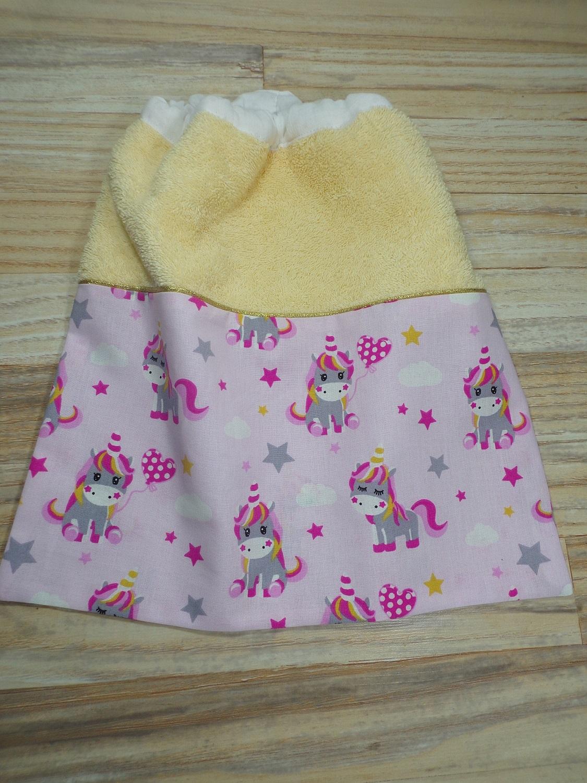 serviette cantine maternelle licorne