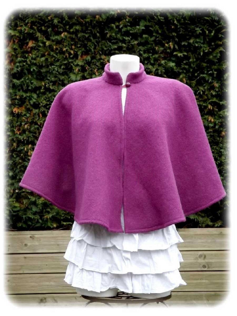 Cape de mariée laine