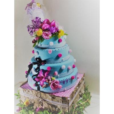 Wedding cake factice gourmandises pièce montée