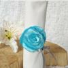 rond de serviette mariage fleur personnalisé