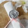 Rond de serviette mariage personnalisé