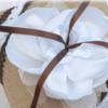accessoire mariage champetre jute fleur