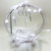 accessoire mariage plumes diamant fleur blanc
