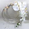 bouquet mariage orchidée fil alu original personnalisé