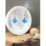 boucles oreillles perles fantaisie fait main