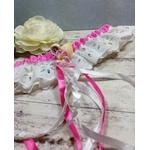 Accessoire mariage fleurs tiaré coquillage fait main