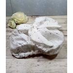 Culotte fille noeud blanc doré cérémonie