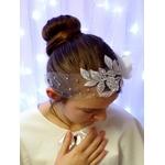 Headband fleur strass mariage
