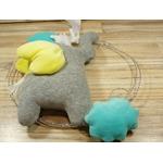 cadeau bébé éléphant décoration chambre enfant fait main