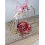 accessoire mariage personnalisé original rose doré