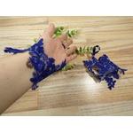 Accessoire mariée fait main  personnalisé bleu roi