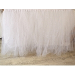 jupe de table tulle mariage