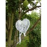 décoration mariage bohème romantique suspension