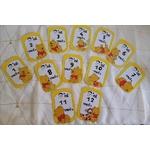 cartes étapes bébé winnie lourson fait main collection