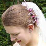 Couronne de fleurs mariée Swarovski perles et cristaux