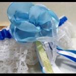 accessoire mariée personnalisé dentelle coquillage