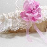accessoire mariée fait main perosnnalisé dentelle ivoire