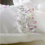 accessoire mariage satin blanc hiver