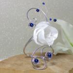 bracelet fleur perles fait main