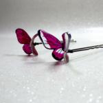 Epingles à cheveux mariage papillon