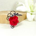 boutonnière du marié fleur mariage fait main