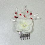 peigne à chignon fleur mariage
