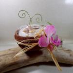 porte alliances noix de coco mariage tropical
