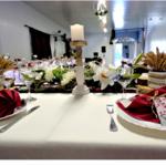 centre table des mariés mariage champêtre bohême