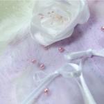 porte alliances mariage fait main fleurs plumes