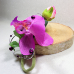 bijou fleur orchidée mariage  témoin
