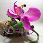 boutonnière orchidée mariage