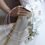 bouquet mariée original orchidée personnalisé