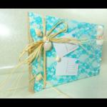 Livre dor mariage thème la mer, les îles voyage turquoise