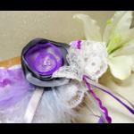 accessoire mariée fait main papillon dentelle personnalisé