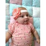 accessoire cheveux bébé fille fleur fait main personnalisé