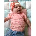 bandeau fleur personnalisé bébé fille