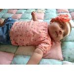 headband bébé fille fleur fait main personnalisé