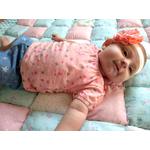bandeau cheveux bébé fille fleur