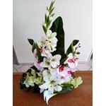 coupe florale mariage cérémonie fleurs artificielles