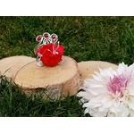 Bracelet fleur mariage personnalisé