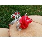 bracelet mariée fleur personnalisé