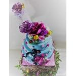 faux gateau wedding cake pièce montée mariage bapteme anniversaire alie aux pays des merveilles