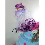 gateau mariage factice décoration personnalisé bapteme communion anniversaire alice au pays des merveilles