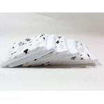 lingettes lavables zéro dechet bébé cactus blanc noir (2)