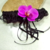 jarretière orchidée dentelle personnalisée