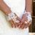 mitaine gant dentelle de Calais guipure ivoire mariage accessoire de mariée