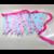 guirlande fanion tissu dentelle mariage bapteme anniversaire