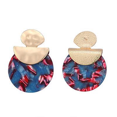 Yhpup-Ac-tique-Acide-Acrylique-La-Mode-De-Mode-Boucles-D-oreilles-Pour-Les-Femmes-Charme