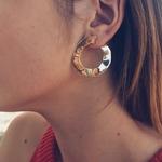 Docona-Vintage-Or-Punk-Twisted-Ronde-Boucles-D-oreilles-pour-les-Femmes-Irr-guli-re-Courbe